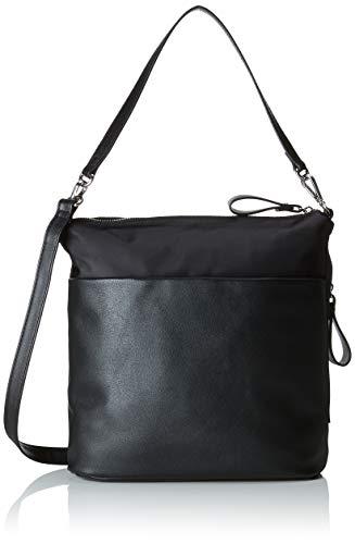 s.Oliver (Bags Damen 38.899.94.3808 Henkeltasche, Schwarz (Black), 14x25x27 cm -