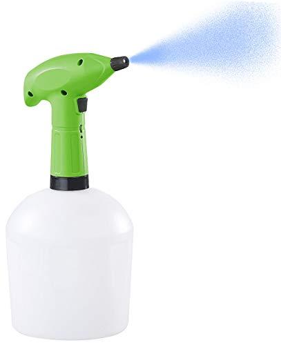 PEARL Sprüher: Akku-Pump-Drucksprüher mit Messingdüse, lösungsmittelfest, 1,5 Liter (Sprühflasche für Pflanze und Blume)