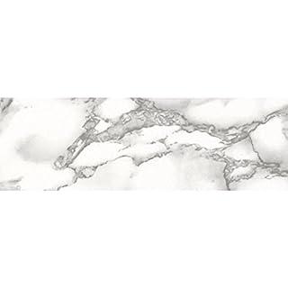 Fablon FAB11132 67.5 cm x 2 m Roll Marble Effect, White