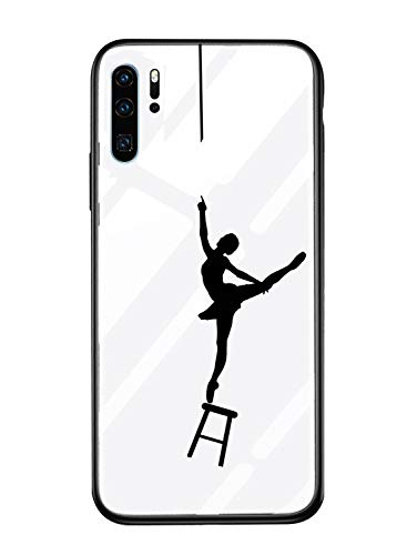 Caler Cover Compatibile con Samsung Galaxy A20E Custodia Protettiva in Vetro Temperato 9H 【AntiGraffio】 + Cornice Paraurti in TPU Silicone Morbido 【Antiurti】 3D Design Vogue Ultra Chic