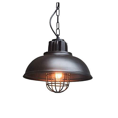 GWFVA Industrielle Edison Vintage Cage Anhänger Beleuchtung Klassische Scheune Metall Pendelleuchte Kronleuchter