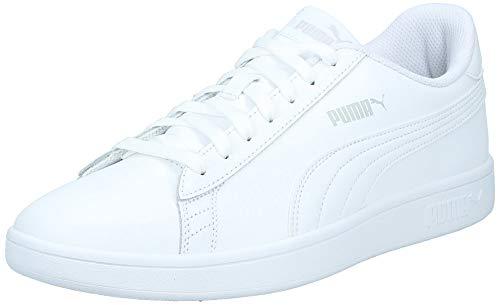 Puma Smash v2 L, Unisex-Erwachsene Sneakers, Weiß (Puma White-Puma White), 44 EU (9.5 UK)