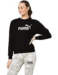Puma Ess Logo Crew Sweat TR, Felpa Donna