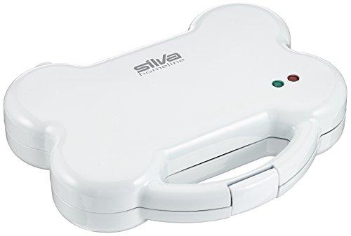 Silva-Homeline DCM 600 Hunde-Kekse Maker mit Rezeptideen für Hundekuchen, 800 W, weiß