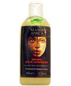 Mama Africa Skin Cleanser Lait éclaircissant Tonic avec de l'aloe vera et la vitamine E 200 ml – en Roxanna Paris – formulé pour les personnes de couleur