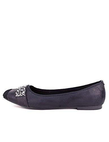 Cendriyon, Ballerine Noire STELANA Mode Chaussures Femme