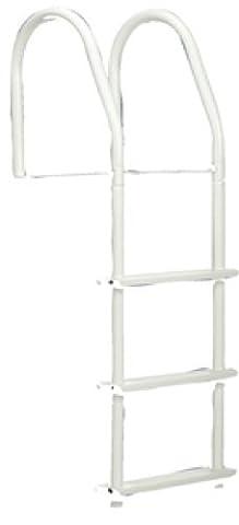 Dock Rand 5 Stufen-Leiter mit Dock-Metallic