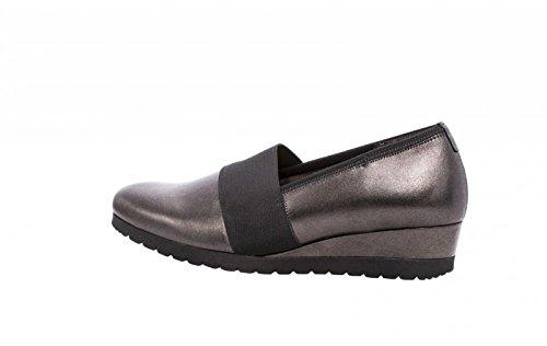 Gabor Confort Femmes Wedges 72.683.17 acier / gris grau