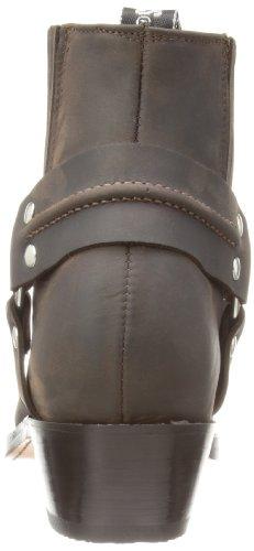 Grinders Harness Lo, bottes motardes homme brun (Brown)