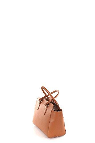 Patrizia Pepe Lock Fly Sac à main - porté main cuir 31 cm braun