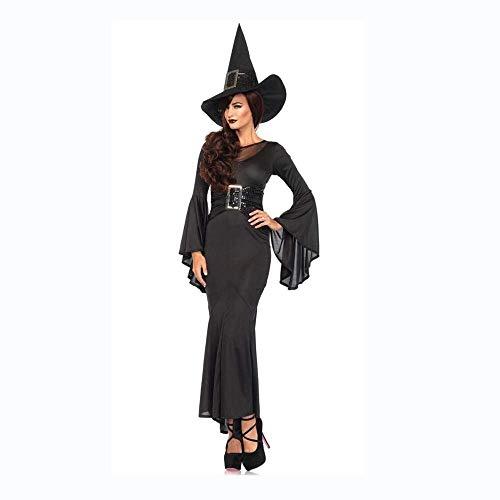Fashion-Cos1 Prinzessin Kleid Halloween Kostüm Für Frauen Cosplay Scary Hexe Viktorianischen Kleid Frauen Karneval Maskerade Cosplay Kleid (Halloween Make-up Viktorianischen)
