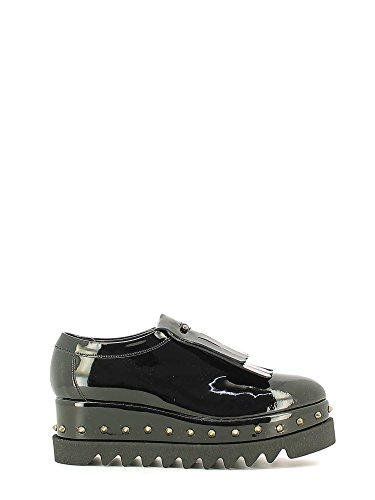 Grace shoes 8560 Francesina Donna Nero 35