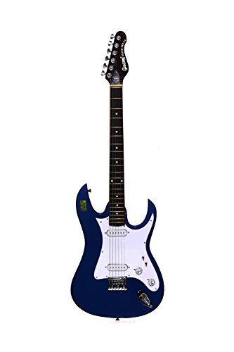 Givson Super Delux, 6-Strings, Electric Guitar, Right-Handed, Blue, With Cusion Cover/Bag or Hard Case  available at amazon for Rs.7500
