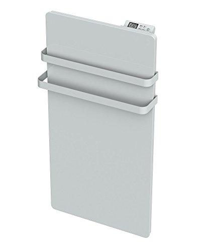 Cayenne 049767  Radiateur Sèche-Serviette Verre lcd 1000W Blanc