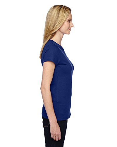 Fruit Of The Loom - T-shirt à manches courtes - Femme Admiral Blue