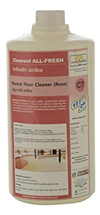 Cleansol All Fresh (Neutral Floor Cleaner - Rose) (1L)