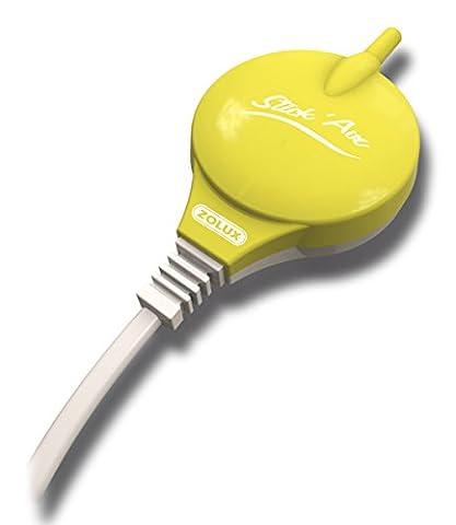 Pompe à air StickAir Nanolife vert pour petits aquariums (max 50L)
