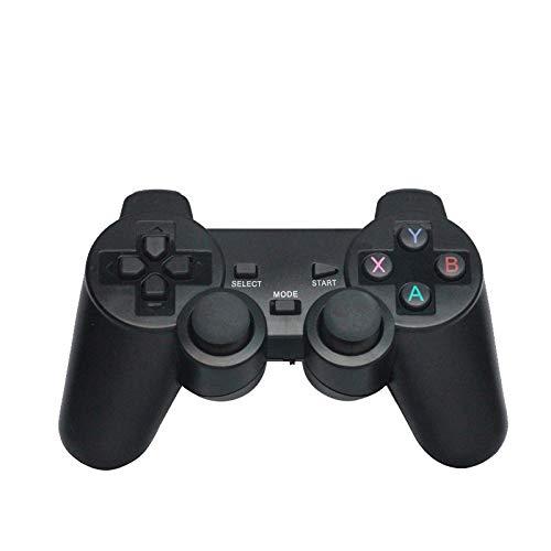 VSousT Gamepad Wireless Game Controller Ladegerät Gamepad PS3 Computer Smart Android-Telefongriff Mit USB-Ladegerät Kabel, Schwarz Gamepad - Treiber-fenster Motor