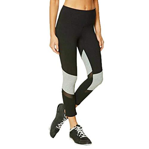 1a84491f701028 Mujer Pantalones De Yoga para Mumuj New Friends Mujeres Chic Fashion Mesh  Sport Pantalones De Yoga para Correr Gimnasio Fitness Leggings Pantalones  ...