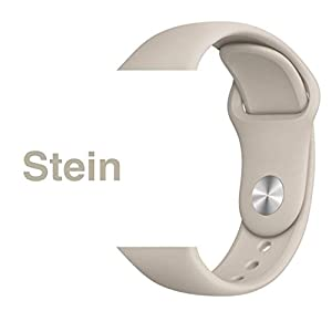Armband für Apple Watch in Stein 42/44mm passend für Apple Watch 1 2 3 4 5