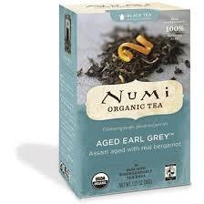 Numi Aged Earl Grey Org Tea 18 Bag