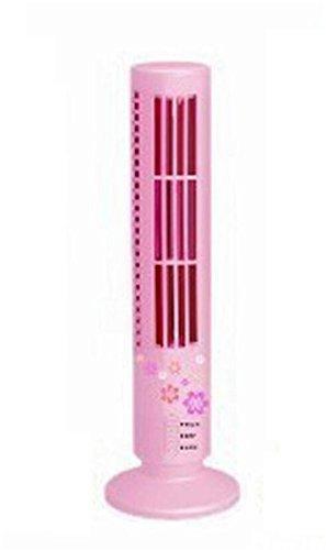 NWYJR USB-Turm-Lüfter High/Low 2 Gang Einstellbare Luftvolumen Niedlich Fanless Fan Super vertikalen Doppel-Datei-Fan, D -