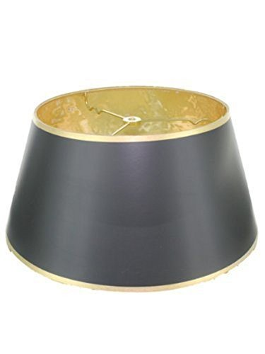 upgradelights schwarz Seide Bouillotte 35,6cm Lampe Stil Lampen oder Kerzenhalter Lampen durch upgradelights