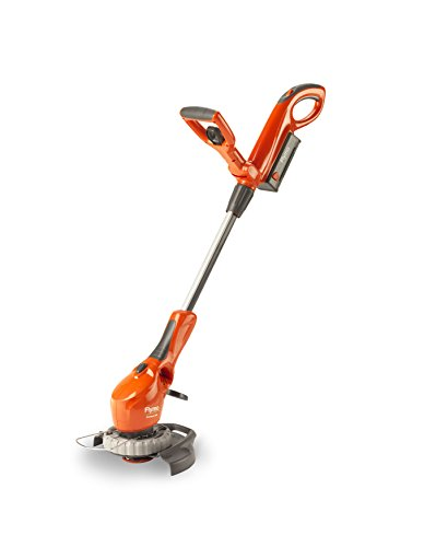 Flymo Contour Cordless Battery Grass Trimmer and Edger, 24 V, Cutting Width 25cm