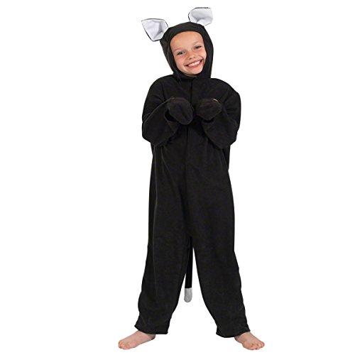 Unbekannt Charlie Crow Katzenkostüm für Kinder 7-9 Jahre. (Der Kater Kinder-kostüm Gestiefelte)