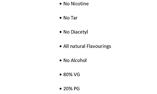 E Cigarette Liquid Strawberries and Cream Flavour Non-Nicotine Vaping Juice by Vape and Chill 80-20 VG-PG in a 30ml Glass Bottle with Dropper