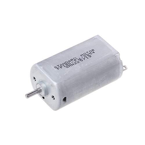 GROOMY (1 stück 180 Motor 6mm wellenlänge 3 V-9 V high Speed Micro DC Motor A3 (magnetisch) -