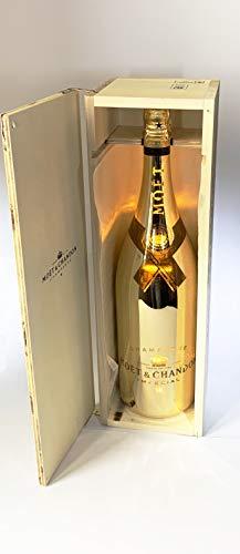 Moet Chandon Bright Night LED 6l Methusalem Flasche in Holzkiste 12{eae455d392d0ed346d38482bd110777199f49da7d02e9774cf165954a62782ac} Vol