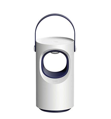 YFTM-MK Púrpura Swirl-USB Mosquito Killer, Fotocatalizador para Uso Doméstico Inhalado LED Mosquito Killer Repelente De Mosquitos, Sin Radiación, Anti-Mosquito Físico,A