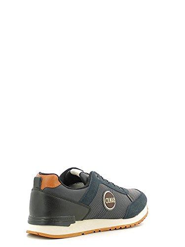 Colmar TRAVIS DRILL Sneakers Uomo Ecopelle MID GREY MID GREY 40 Blu