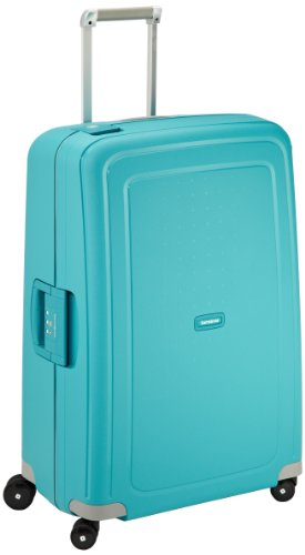 samsonite valise s cure spinner 75 28 75 cm 102 l turquoise avis boutique. Black Bedroom Furniture Sets. Home Design Ideas