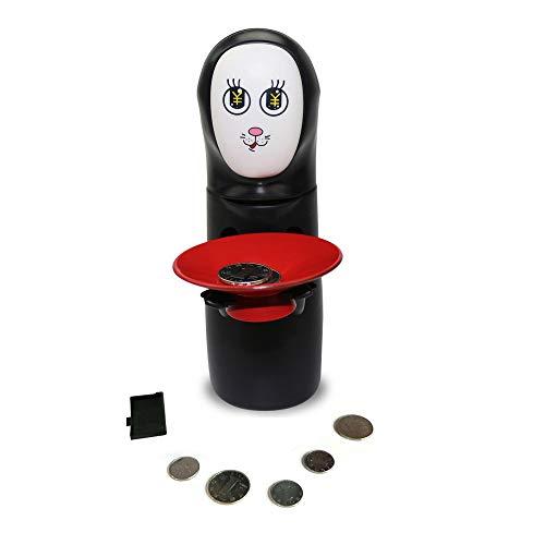 NPRADLA Hucha Piggy Bank Seguro Creative Interesante Lindo Presenta máquina automática de Monedas (Gato)