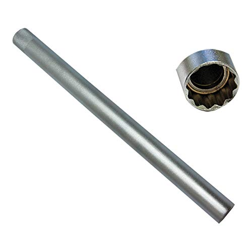 Neilsen - Chiave a Candela 16 mm, Magnetica, Extra Lunga, 250 mm, Quadrata, per Allenamento da 3/8' a 12 Lati