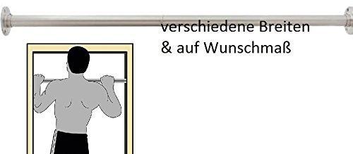 Preisvergleich Produktbild 150 cm Reckstange aus Edelstahl V2A Turnstange Einzelturnreck Turnreck Kletterstange