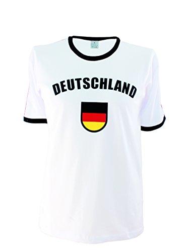 T-shirt Deutschland Trikot Größen 74 bis XXL (74) (Fußball-baby-t-shirt)