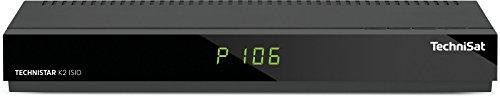 TechniSat TECHNISTAR K2 ISIO Kabel-Receiver mit Internetfunktionalität, PVR-Aufnahmefunktion, UPnP-Livestreaming, Ethernet, schwarz