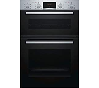 Bosch MBS133BR0B Built-In Electric Double Oven in Stainless Steel (B07CMF63KT) | Amazon price tracker / tracking, Amazon price history charts, Amazon price watches, Amazon price drop alerts