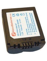 Akku für PANASONIC LUMIX DMC-FZ35, 7.2V, 710mAh, Li-Ionen - Panasonic Lumix Fz35