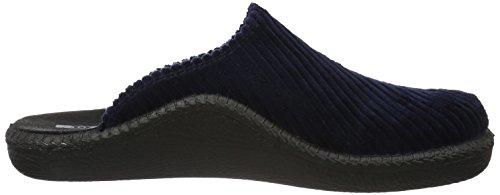 Romika Herren Mokasso 220 Pantoffeln Blau (Blau)