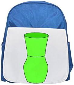 A A A neon Vert  vase printed kid's Bleu  backpack, Cute backpacks, cute small backpacks, cute Noir  backpack, cool Noir  backpack, fashion backpacks, large fashion backpacks, Noir  fashion backpack | Up-to-date Styling  889176