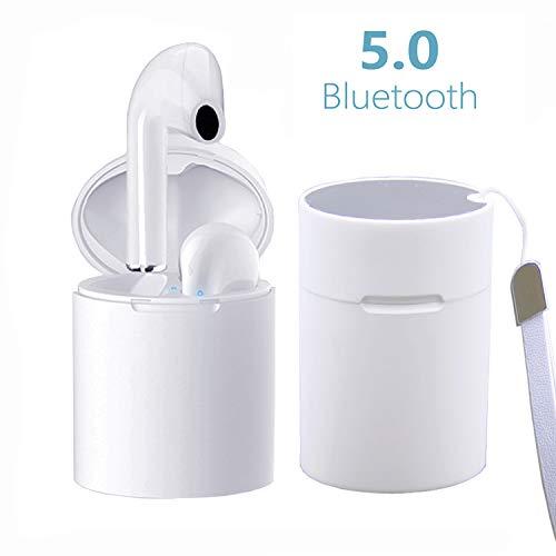 Cuffie Bluetooth 5.0, Mini Auricolari Senza Fili Auricolare Bluetooth stereo X10 Sportivo Cordless con scatola di ricarica Portatile per Huawei...
