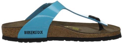 Birkenstock Classic GIZEH Damen Zehentrenner Blau (Blue Lack)