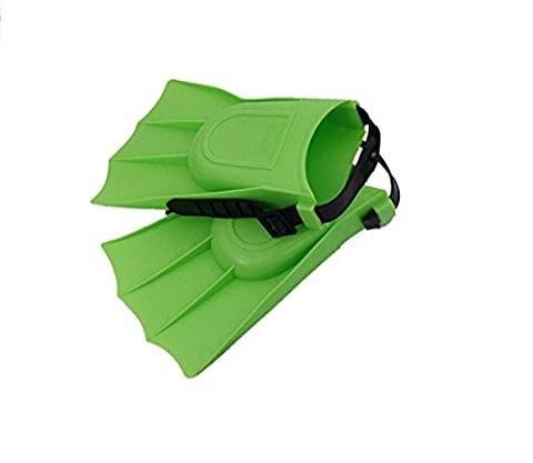 AMYMGLL fournitures enfants palmes de plongée palmes de plongée multicolores 25 à 30 verges à porter , green