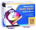 Western Digital 120GB EIDE Festplatte mit 8MB Cache -