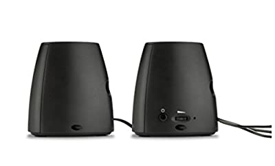 HP S3100 USB Speakers (Black)