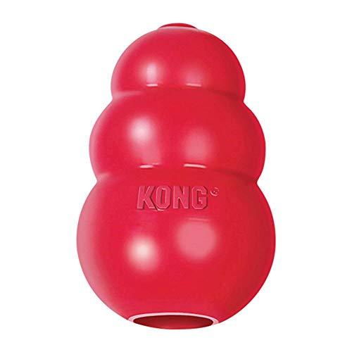 Kong Classic Hundespielzeug, Vollgummi, L - Geschirrspüler Waschen